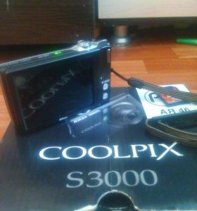Фотоаппарат Nicon coolpix s3000