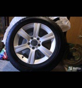 Шины зимние с дисками(оригинал) на Mercedes W212