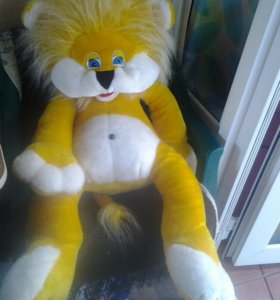Продам новую мягкую игрушку -Львенок