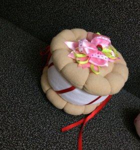 Тортик шкатулка
