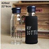 Бутылка 420ml MY Bottle для Смузи Стекло