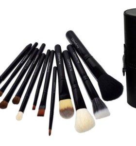 Набор кистей для макияжа. 💯 Натуральный ворс