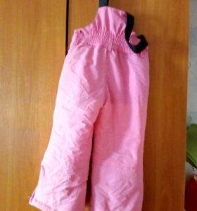 Новые демисезонные штанв