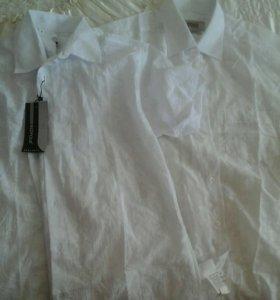 Мужские рубашки 41-42 воротник