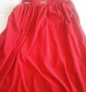 Длинная юбка почти новая
