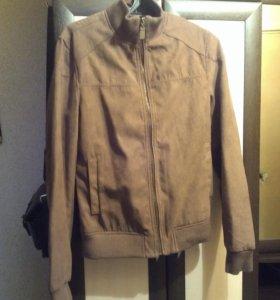 Куртка замшевая весна-осень