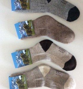 Шерстяные носки (як, верблюд,овчина). Монголия.