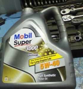 Масло. Синтетика 5w-40 diezel 4 L.
