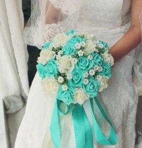 Цветы свадебные, букет, искусственные цветы