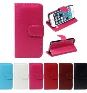 Новый голубой чехол для iphone 5