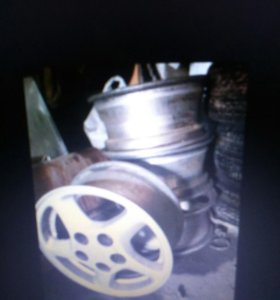 Комплект дисков от тойота ипсум