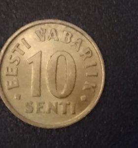 Монета Эстонии