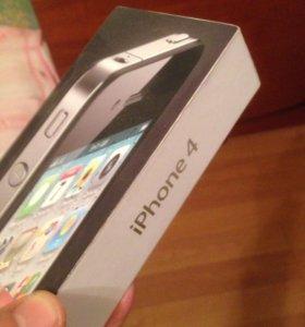 Коробка от iPhon 4, черная