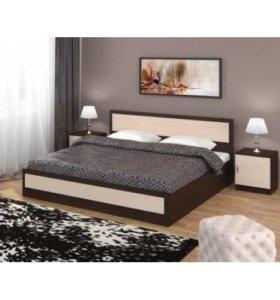 Кровать + основание + матрас