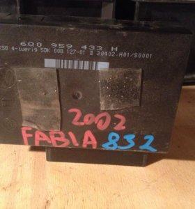 Блок комфорта VAG FABIA Шкода Фабия 6Q0959433H