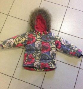 Куртка зимняя Густи на девочку
