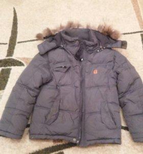 Куртка зимняя на 5-6 лет