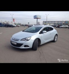 opel astra gtc 1.4 AT,2012купе