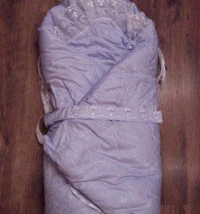 Конверт на выписку +одеяло