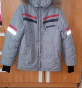 Куртка зим. подростковая