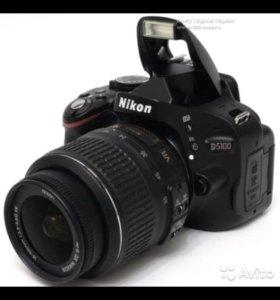 Nikon D5100 Kit + сумка для хранения и переноски;