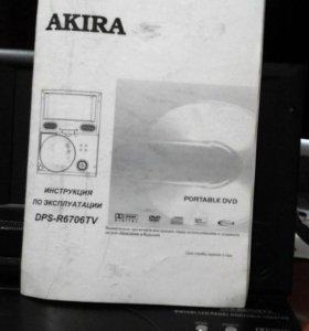 DVD + телевизор , 12 и 220 вольт.
