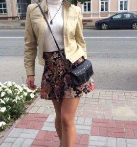 Юбочка курточка и сумочка