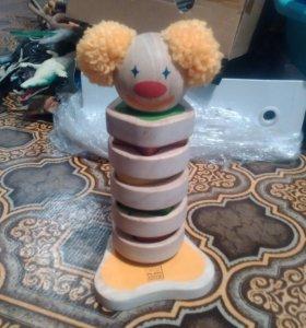 Пирамидка клоун