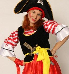 Аниматор Пиратка и Пират