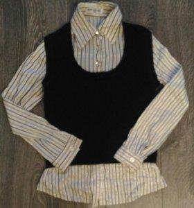 Рубашка-жилетка