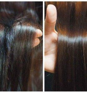 Полировка волос и запаивание сеченых кончиков
