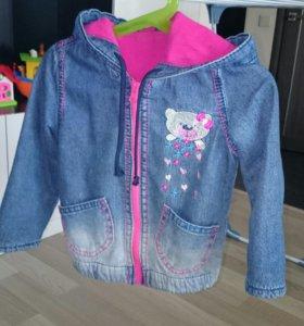 Джинсовая куртка 1,5 - 2,5 года