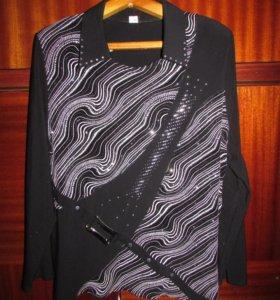Блузка (с блестками)