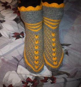 Свяжу носки на заказ