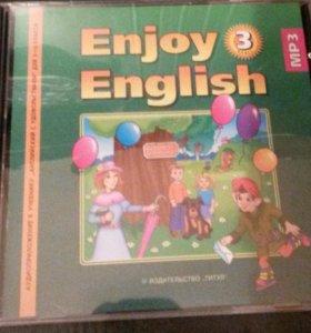 Диск англ.яз 3 кл, учебники разные