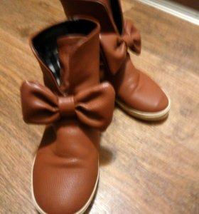 Ботинки осенние 35 р-р