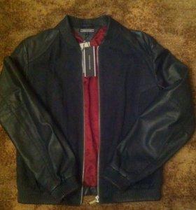 Куртка кожаная Tommy Hilfiger М