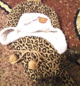 🛍👒👠💄 Шапка+шарфик...🐻🐰🐀