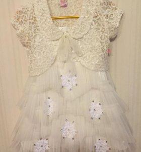 Новогоднее платье для девочки 116 рост