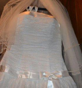 Новое свадебное платье+подарки