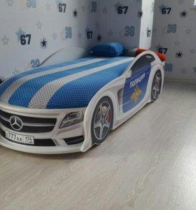 Кровать машина премиум класса