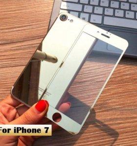 Зеркальные стекла iPhone