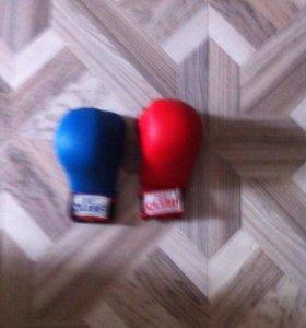 перчатки кик боксерские