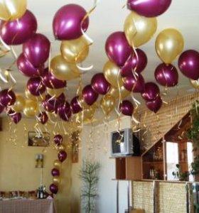 оформление шарами свадьбы первомайск