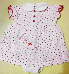 Одежда для новорождённых.
