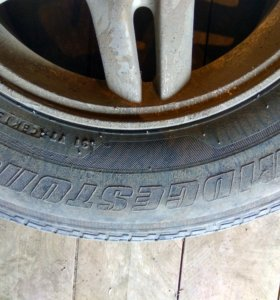 Продам комплект летней резины Bridgestone
