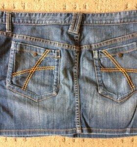 Юбка джинсовая 48-50