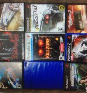 Продам диски PlayStation 2