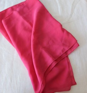 Платок розовый