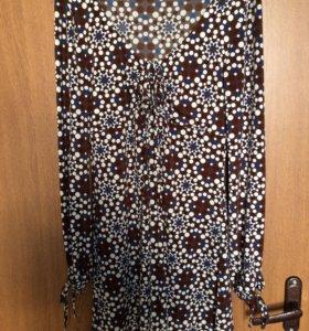 Эффектное платье р.46